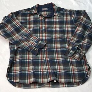 Pendleton Wool Plaid Shirt. Sz. XL